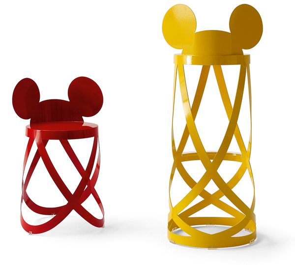 Mickey Ribbon chairs voor Cappellini
