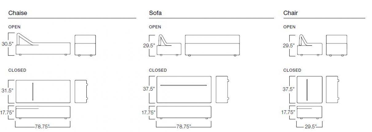 Peel sofa: eenvoud is alles