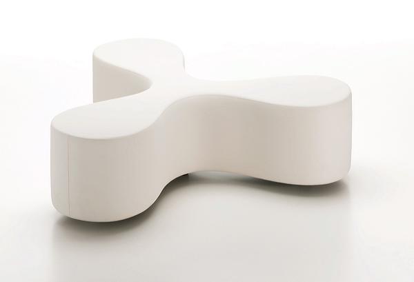 Vitra Flower; een zitbank die direct doet denken aan een klavertje