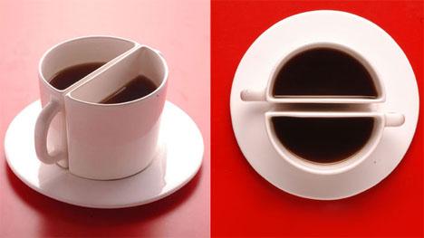 2-in-1 koffiekopje