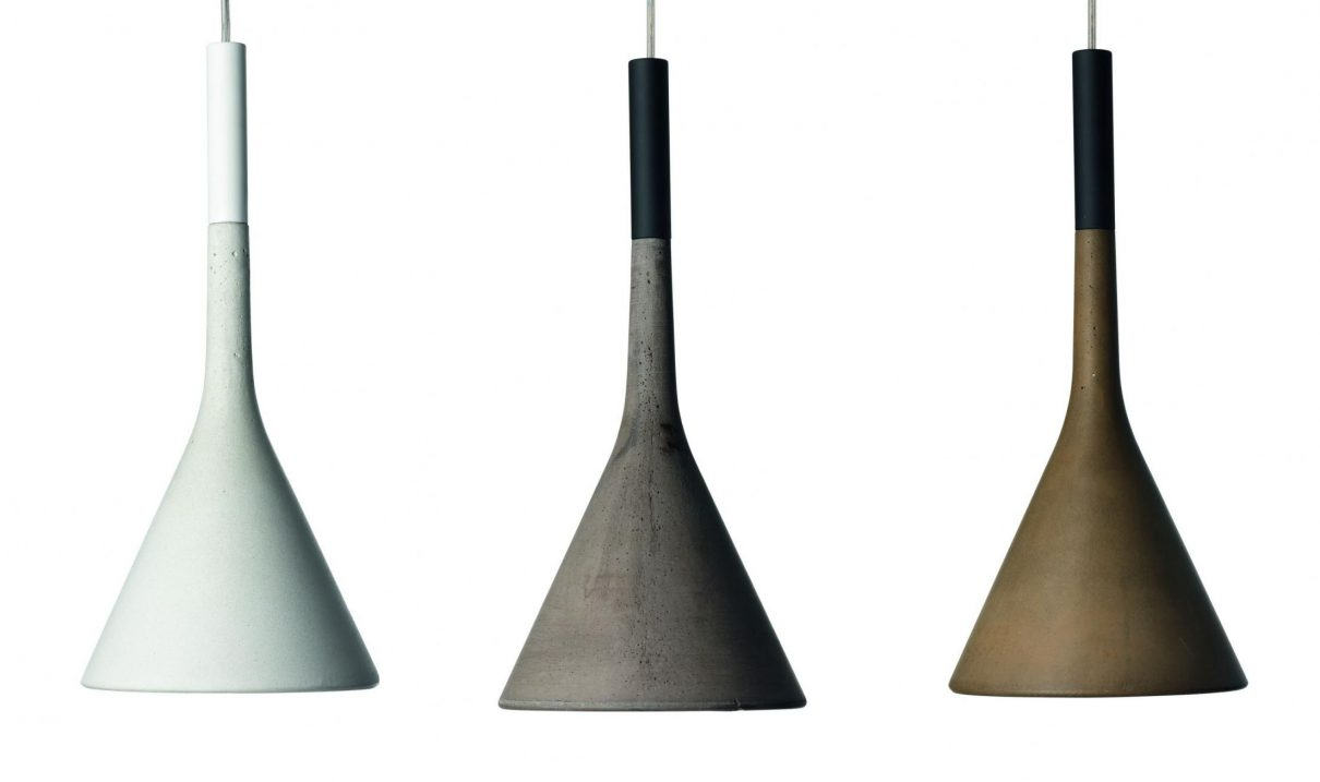 Innovatieve betonnen lampen