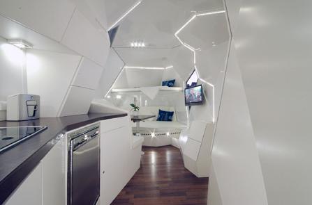 Caravan Mehrzeller keuken