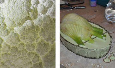 Groentenvorm schaaltjes Reversed Volumes