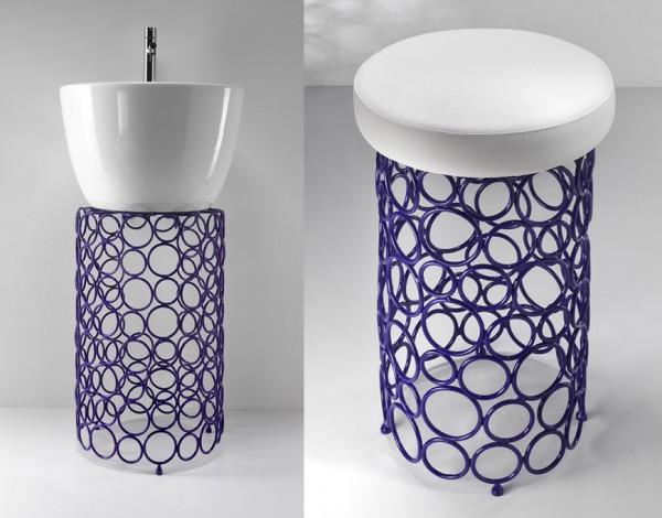 Maaloo stalen badkamer accessoires van OML