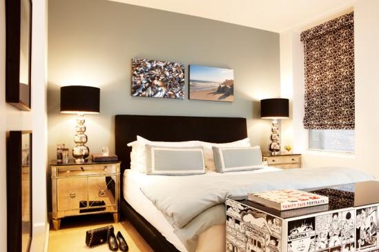 N-Y loft SPI design slaapkamer