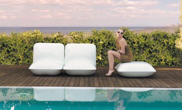 Pillow tuinmeubelen van ontwerper Stefano Giovanni voor Vondom