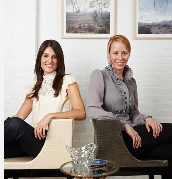 SPI Design ontwerper Sarah Shetter en Alison Palevsky