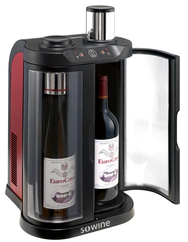 Bewaar je wijn in de SoWine wijnbar van EuroCave