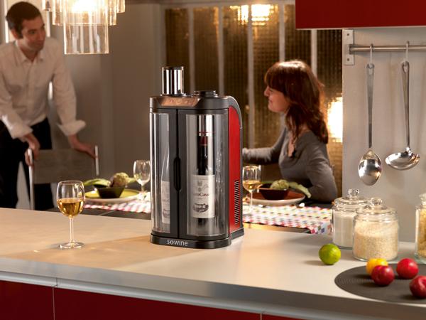De SoWine Wijnbar van EuroCave voor een ideale drinktemperatuur