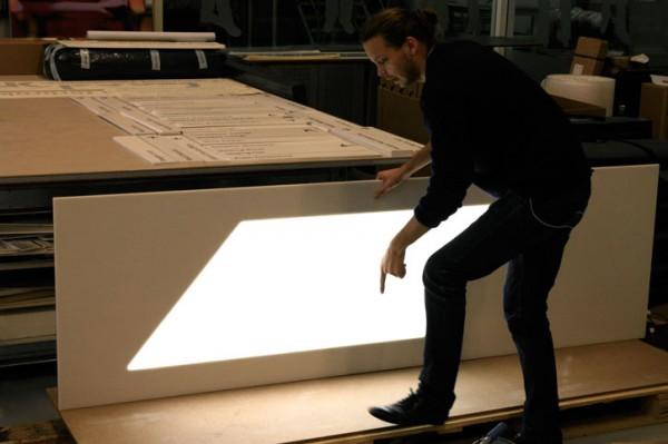 Kunstlicht van ontwerper Daniel Rybakken