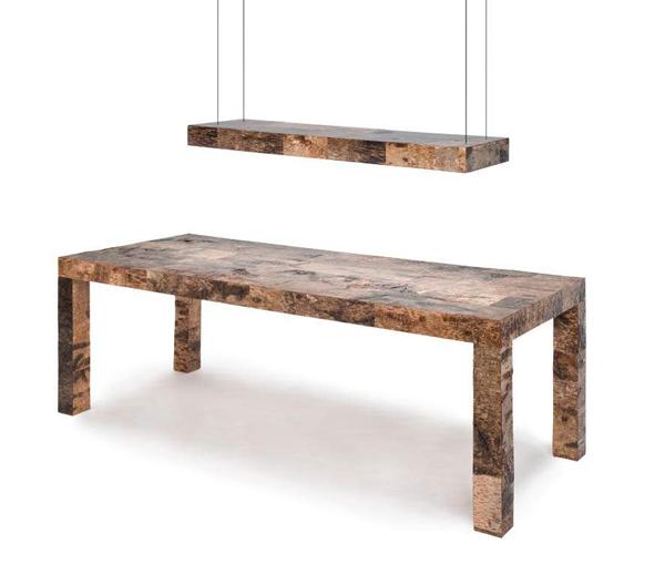 Birchwood tafel van Werner Neumann