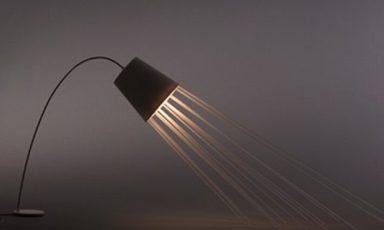 Letterlijk een stralende lamp