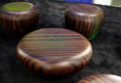 Bright Woods houten tafel collectie van Giancarlo Zema