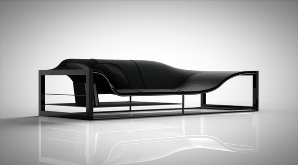 Bucefalo sofa van de The Memento Collection