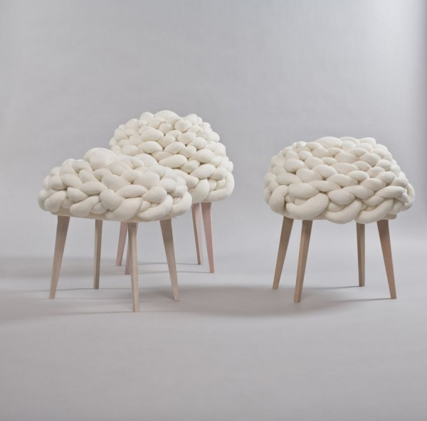 Cloud Stool, een kruk van Joon & Jung