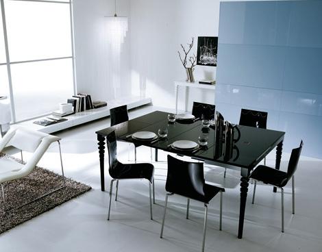 Deco Console uitschuifbare tafel van Ozzio Design