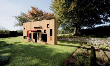 Gigantisch tuinhuis: 1 meter breed!