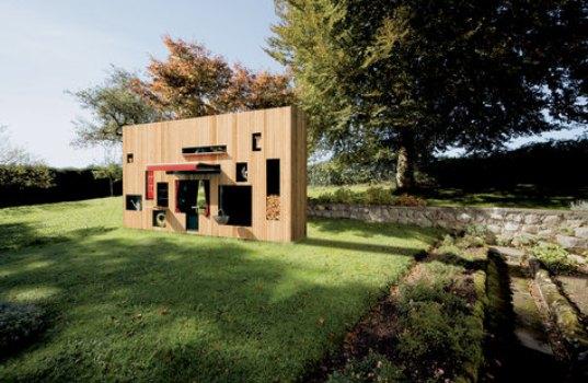 Prefab tuinhuisje Walden van de Duitse architect Nils Holger Moormann