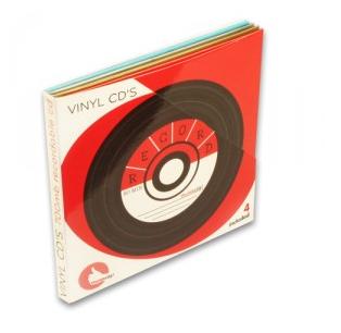 LP - CD 4 cd´s in vinyl verpakking