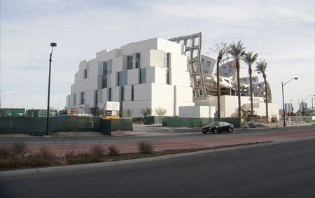 Lou Ruvo Center for brain health gezondheidscentrum architectuur Frank Gehry