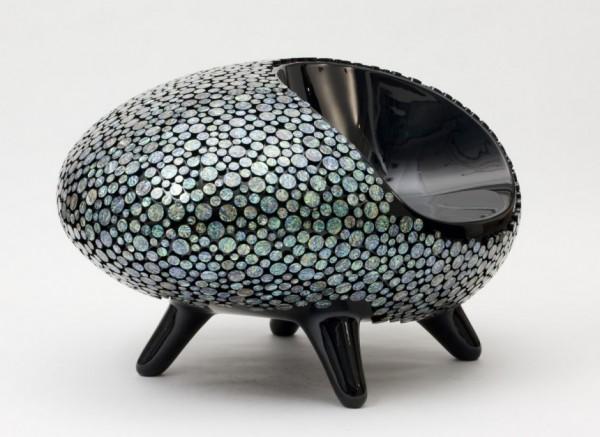 Octopus stoel van de Koreaanse ontwerper Samwoong Lee