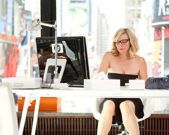 Sex and the City film 2 Samantha´s nieuwe kantoor