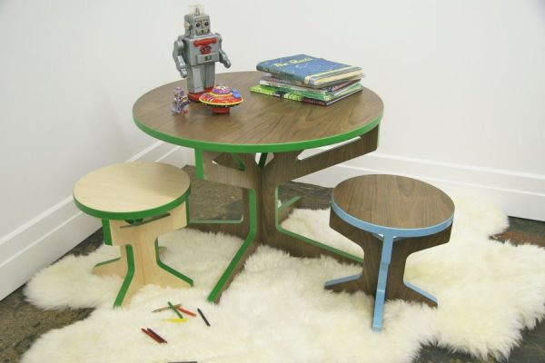 Tree Table Collection kindermeubels van ontwerpster April Hannah