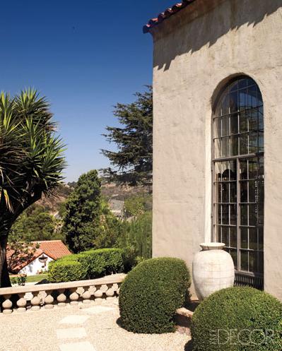Ellen Pompeo´s uitzicht over Hollywood Hills