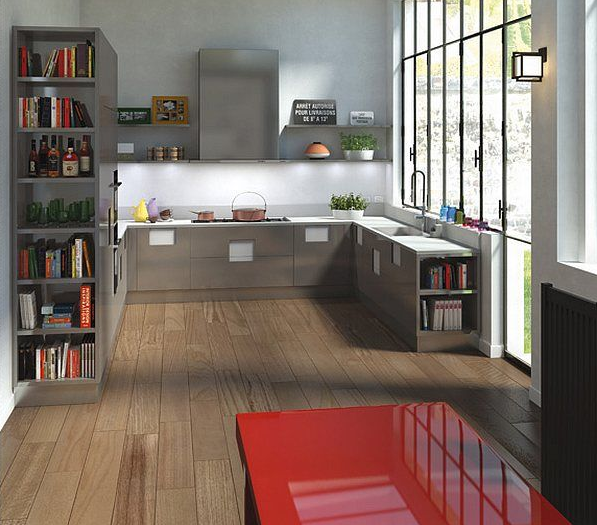 Keuken Inspiratie Kleuren : Keuken inspiratie grijs met rode tafel
