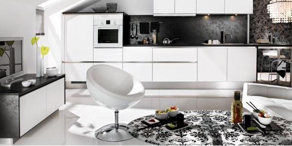 Keuken Zwart Wit : Keuken inspiratie zwart-wit