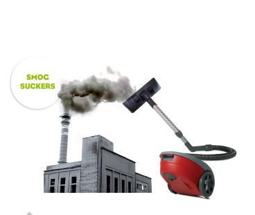 State of Design Festival Melbourne stofzuiger zuigt vervuiling uit lucht