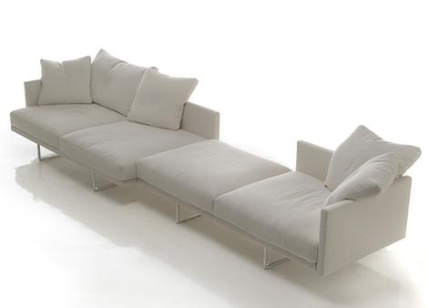 TOOT sofa van ontwerper Piero Lissoni voor het Italiaans Cassina