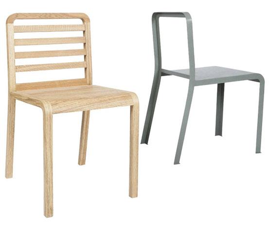 Twin chair stapel stoel van ontwerper Philippe Nigro 2