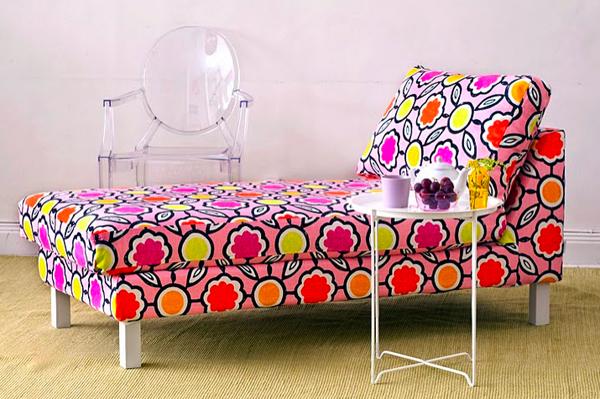 Hoekbank Keuken Ikea : Pink Chaise Lounge