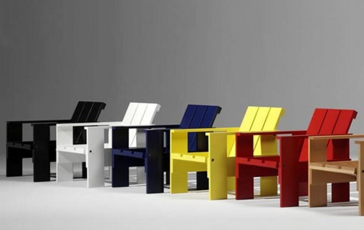Miniatuur Rietveld Stoel : Miniatuur gerrit rietveld gimmii dutch design
