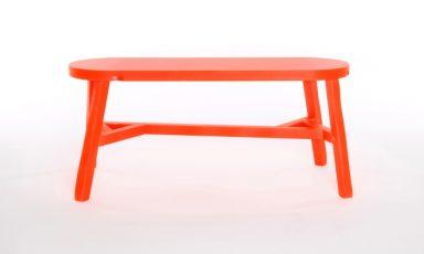 Oranje bankje