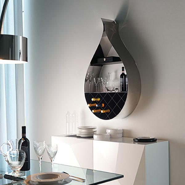 Druppelend wijnrek gimmii shop magazine voor dutch design - Eigentijdse bar ...
