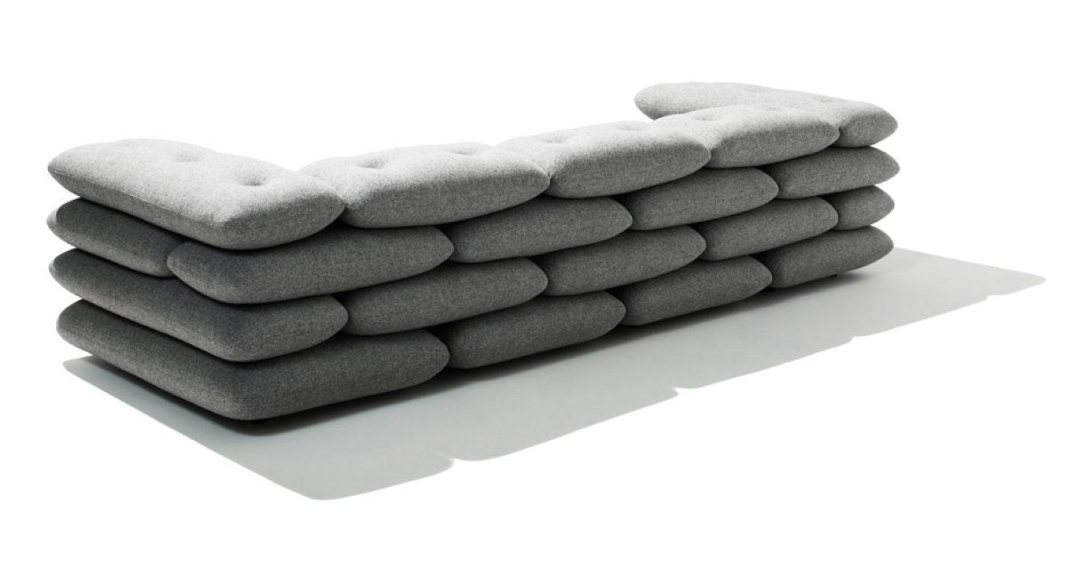 Bakstenen sofa