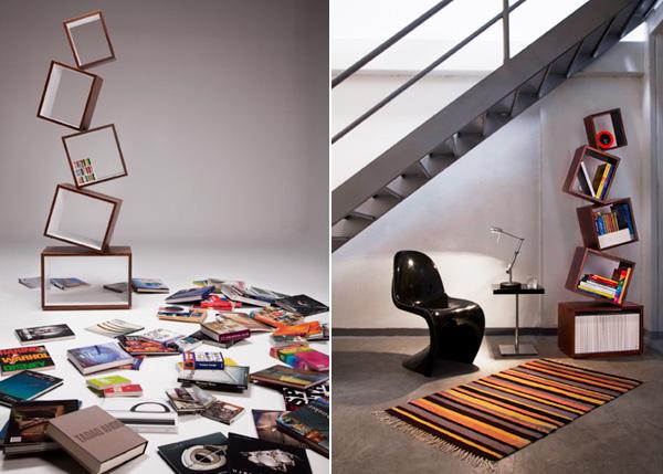 Schots en scheef gimmii dutch design for Boekenkast design