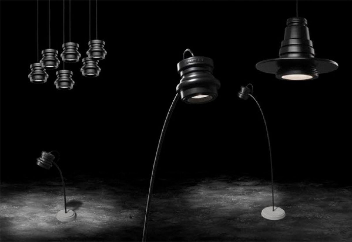 In de spotlights met Diesel with Foscarini
