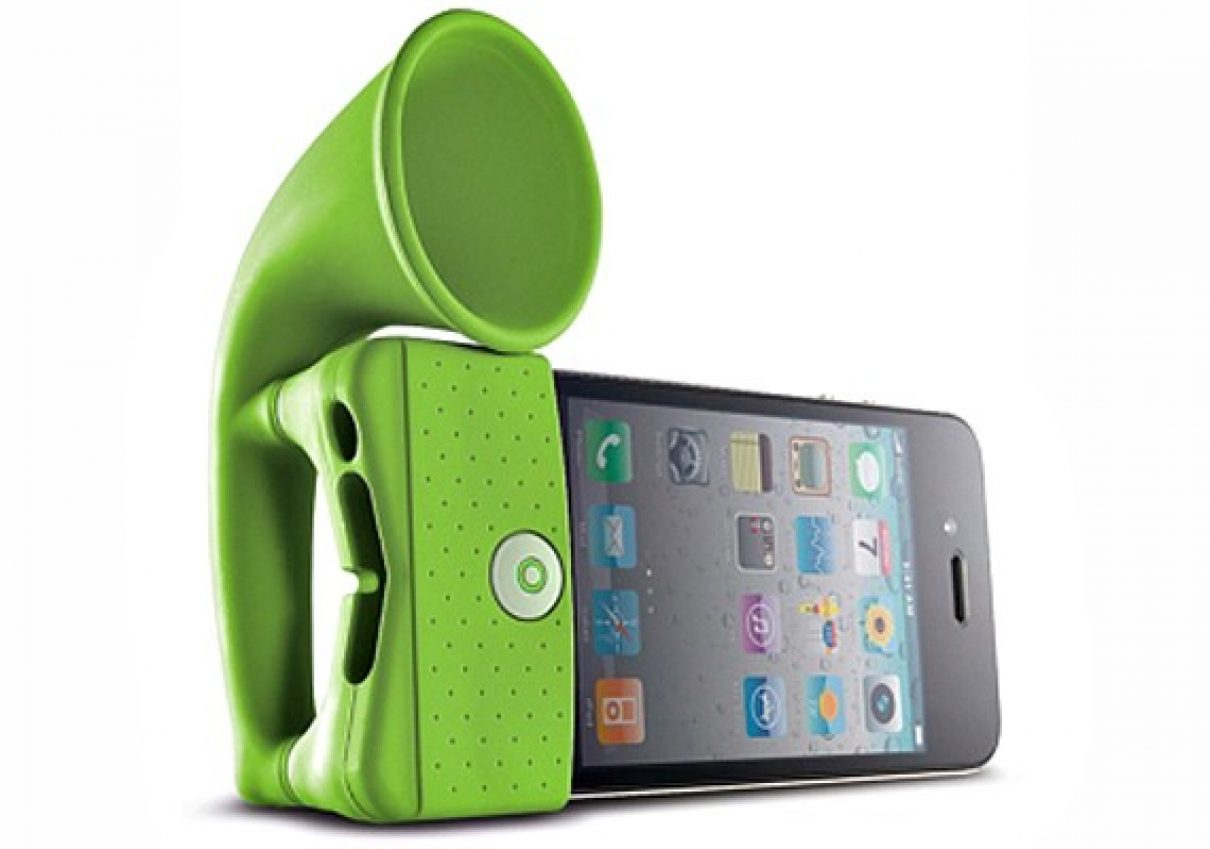 Draagbare iPhone speaker
