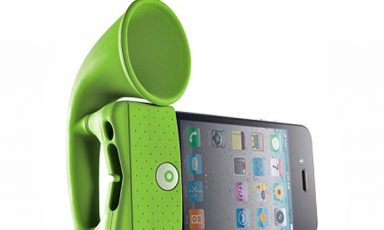 Draagbare iPhone speaker
