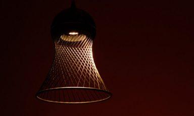 Stoflamp van Yasuhito Hirose