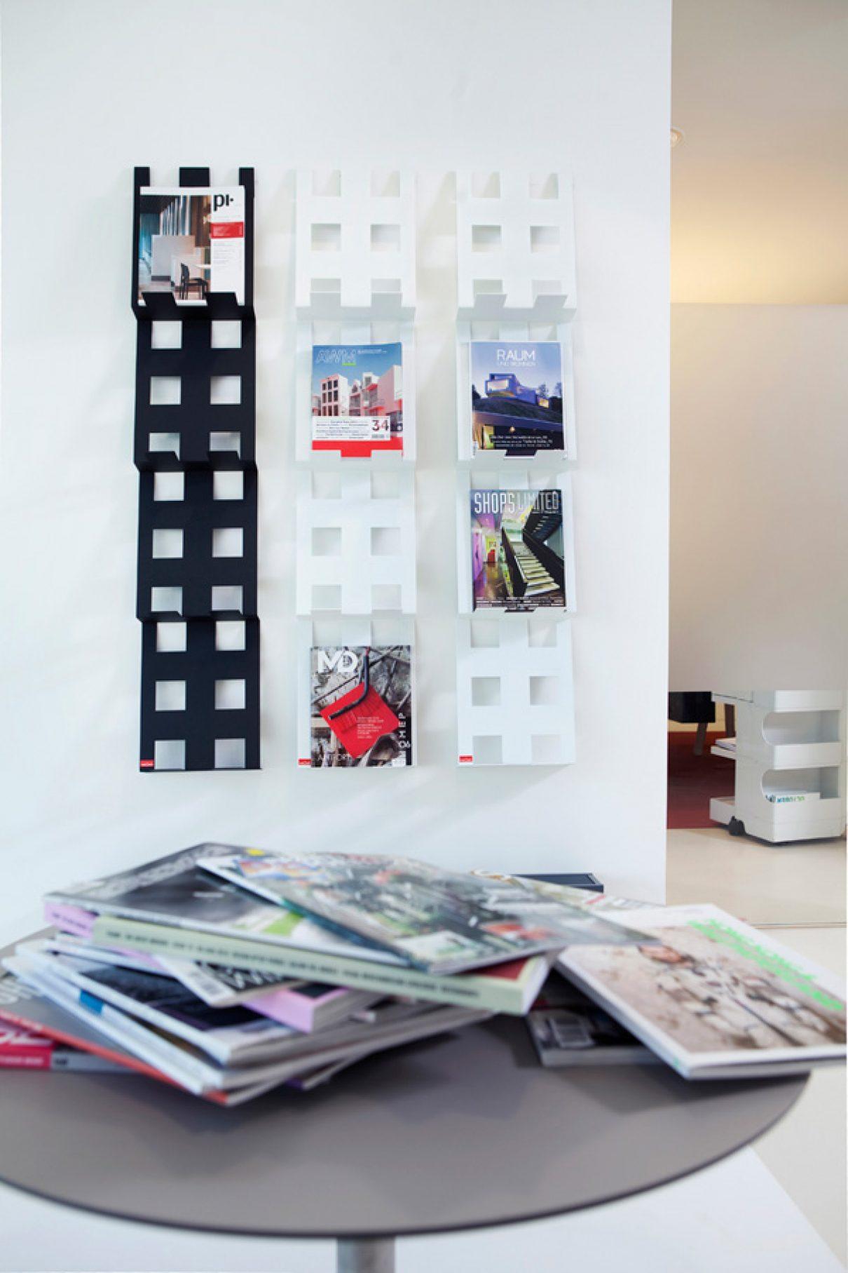 Moderne tijdschriftenstandaard FOLDR