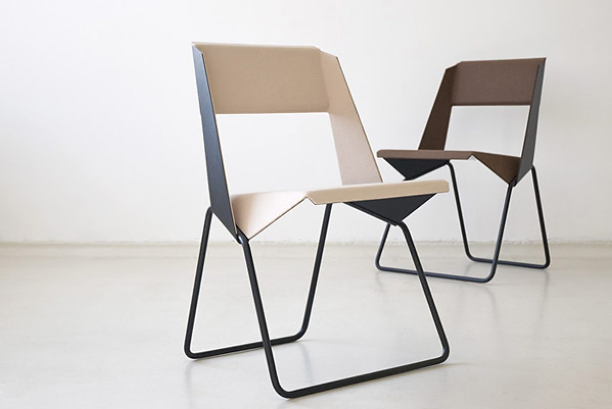 Knap gevouwen gimmii dutch design for Dutch design stoel