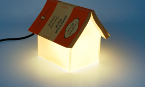 Lamp boekenlegger