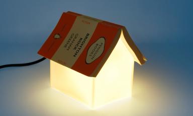 Lekker lichte boekenlegger
