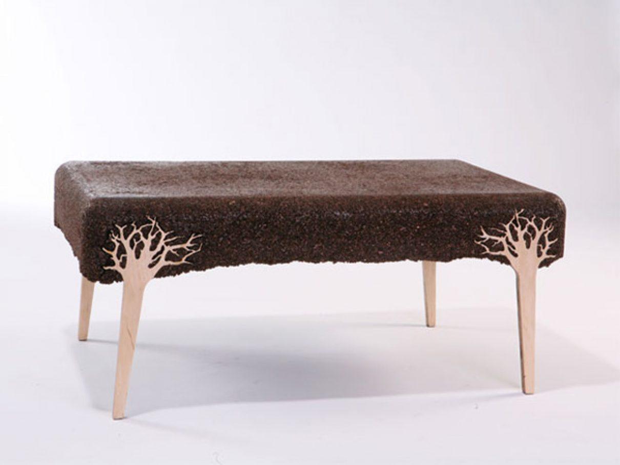Zaagsel om op te zetten en te zitten gimmii dutch design - Designer koffietafel verkoop ...