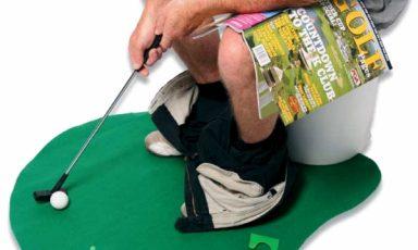 Pret op het toilet