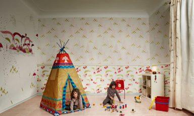 Trés fantasierijk behang voor kids van Tres Tintas